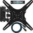 """Full Motion TV Wall Mount Articulating Arm 20"""" Extension TV"""