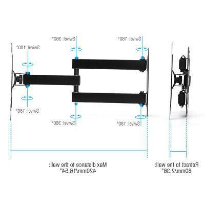 Full Wall Mount Articulating 32 LED LCD
