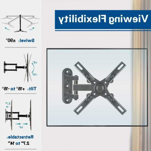 Mounting Motion TV Wall Mount Bracket with Perfect Center