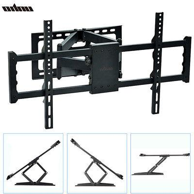 Full Motion TV Wall Mount Tilt Bracket Swivel for Samsung LG