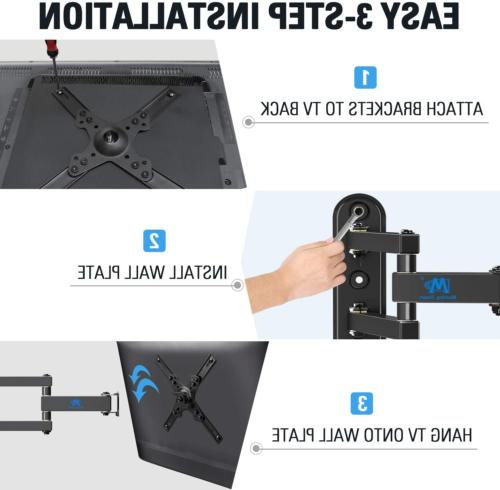 """Full Wall Mount with fits 17-39"""""""