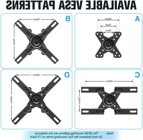 Full TV Wall Mount with Articulating fits