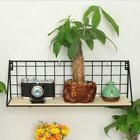 Garden Decorative Wall Mount Pot Plant Holder Planter Rack W