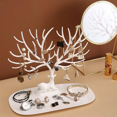 Jewelry Display Organizer Stand Holder Show Rack
