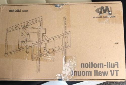 "Mounting Dream MD2380 Flat TV Wall Mount Bracket 26-55"" Full"