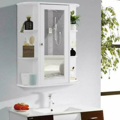 new bathroom wall mounted storage cabinet shelf
