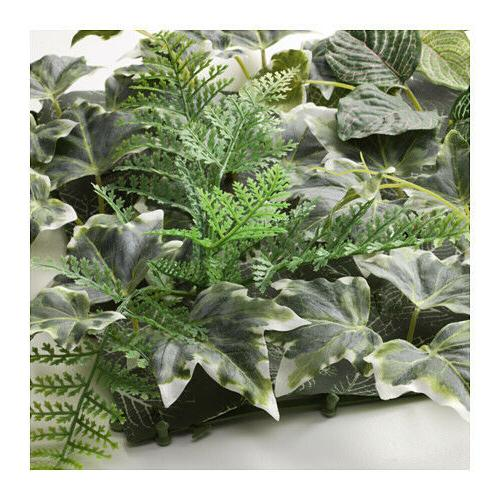 NEW ARTIFICIAL WALL INDOOR/OUTDOOR GREEN LILAC/ GREEN