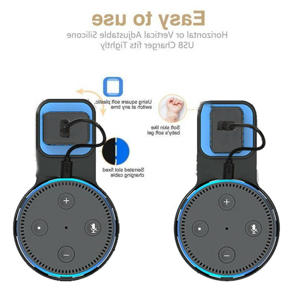 Outlet Wall Bracket Cradle Stand Amazon Echo Dot Generation