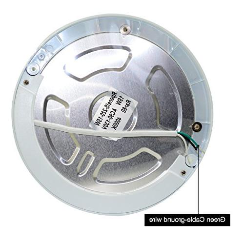 LED Panel Motion Body Ceiling 15W Φ8.66 Inch Surface Lights Round Light For Bathroom