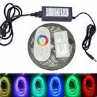 RGB 5050 LED strip light colour changing tape under cabinet