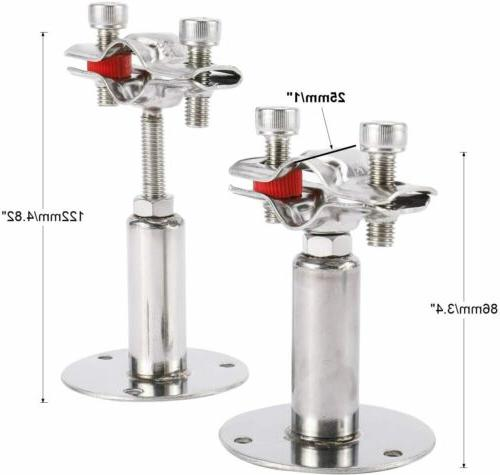 Stainless Steel Wall Ceiling Pipe 2 Pack