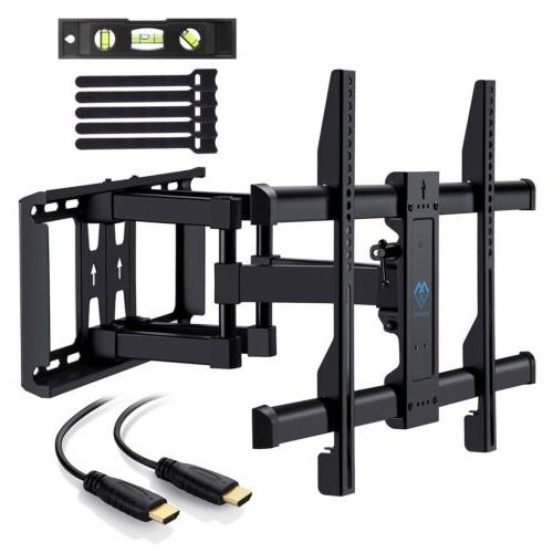 PERLESMITH TV Wall Mount Bracket Full Motion 37-70 In Articu