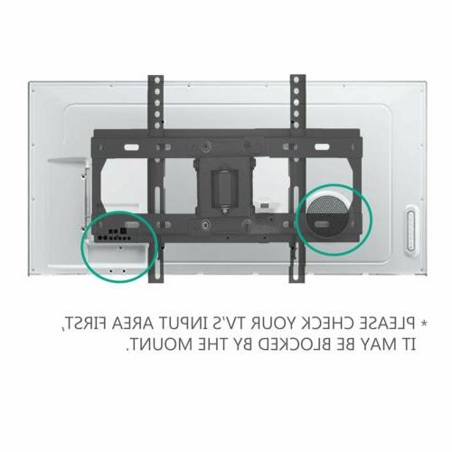 WALI TV Wall Bracket Extend Arm for Most 23-55
