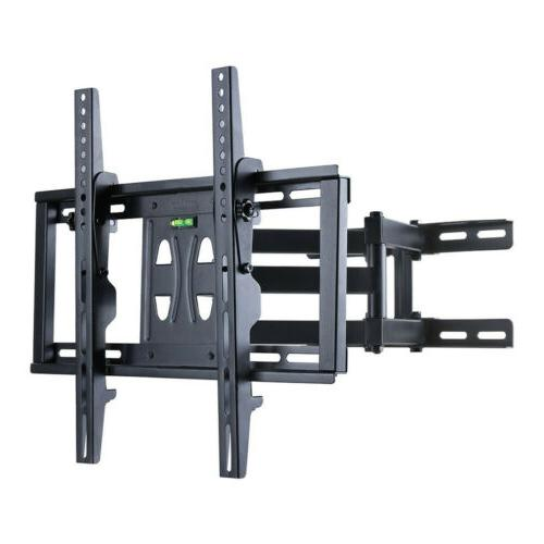 """Dual Articulating Arm TV Wall Mount Bracket for 20-55"""" TV"""