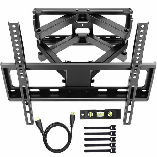 tv wall mount bracket tilts full motion