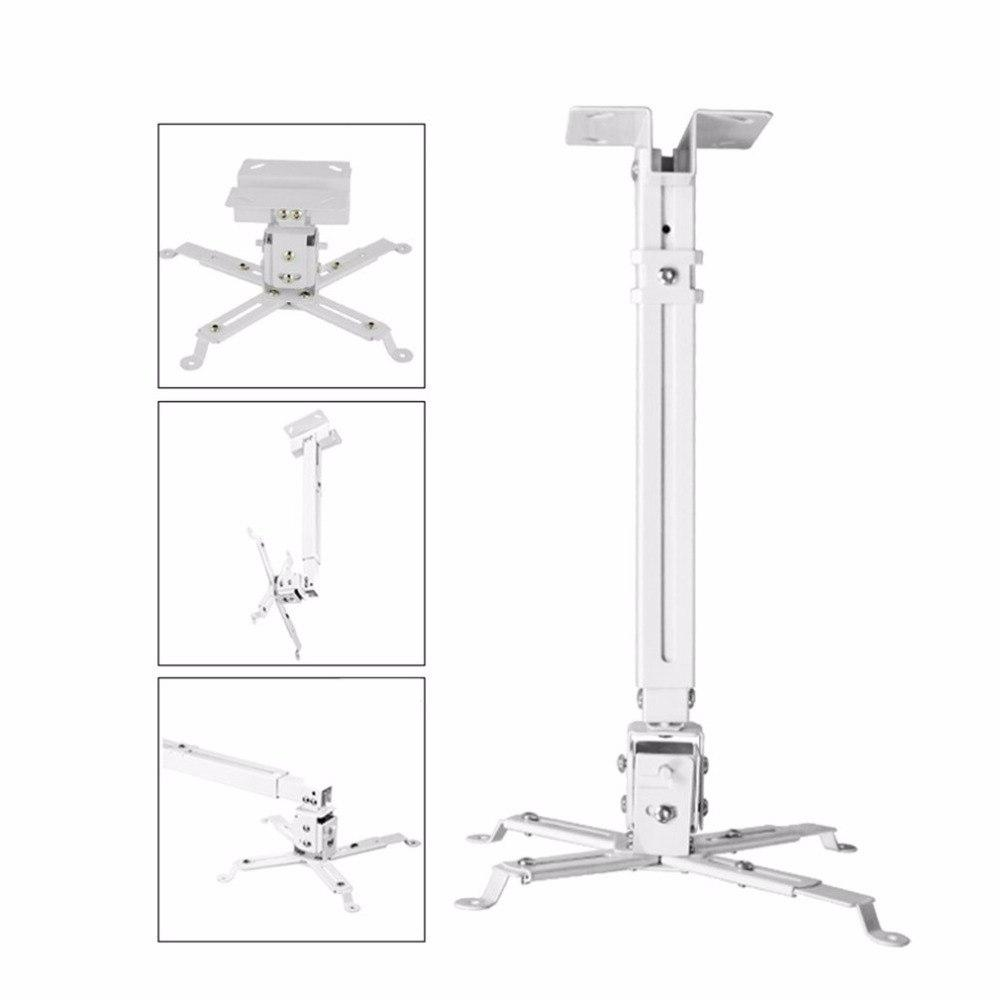 Universal <font><b>Projector</b></font> Bracket Extendable Adjustable Ceiling Wall Bracket Capacity