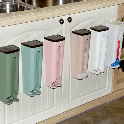 useful kitchen wall mount grocery bag plastic