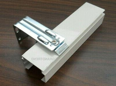 """Vertical Wall Mount 1 Inch """"C"""" Clamp 3"""