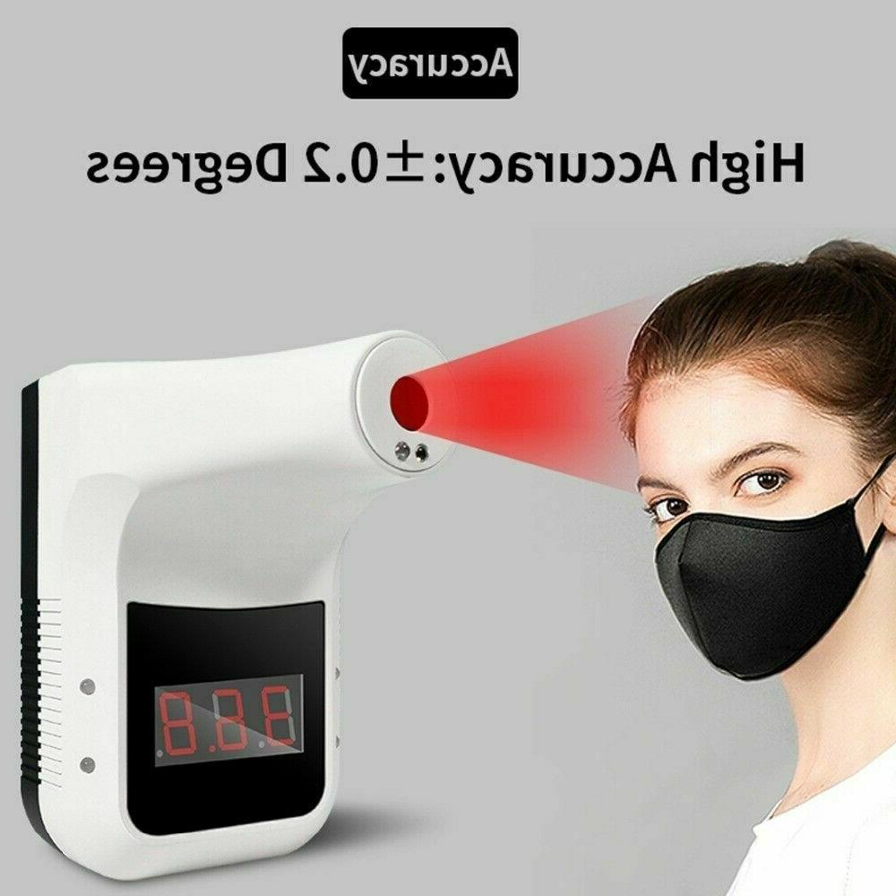 Wall Mount Thermometer Automatic Forehead
