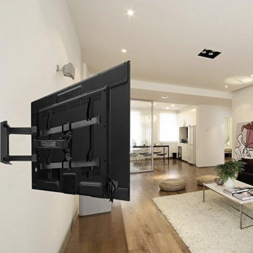 TV Wall for - Full Motion with Articulating Arm Holds up lbs - Plasma Screen TV PERLESMITH