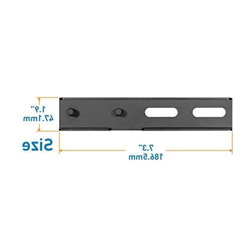 18-24 Inch Extension Bracket ONLY 16 Wall Plate of PERLESMITH Motion Wall Loading 132 LBS, Solid Extender and