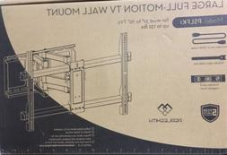 "Perlesmith Large Full Motion TV Wall Mount for 37""-70"" T"