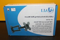 Wali LED/LCD Articulating Wall Mount NEW Tilt Swivel Rotate