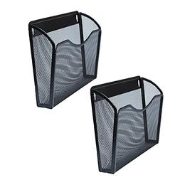 Mesh Wall Mounted Hanging Document & File Organizer - 5 Comp