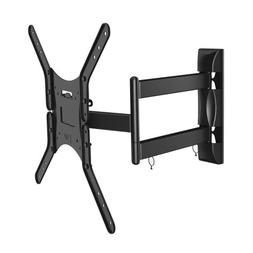 Space Saver Full Motion Flat Screen TV Wall Mount for 20-inc