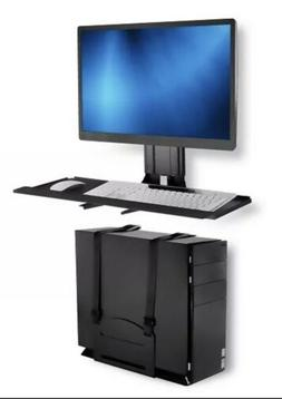 Mount-It MI-7919 Monitor and Keyboard Wall Mount with CPU Ho