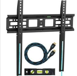 "Cheetah Mounts APFMSB TV Wall Mount Bracket for 20 55"" TVs"