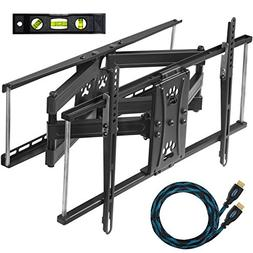Cheetah Mounts Dual Articulating Arm TV Wall Mount Bracket )