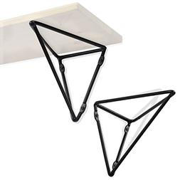 Wallniture Prismo Multipurpose Wall Mount Geometric Brackets