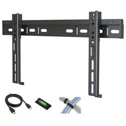 """Low Profile Fixed TV Wall Mount for 17""""-42"""" Flat Screen TVs"""