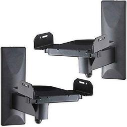 Large Surround Sound Speaker Wall Mount Bracket With Tilt An