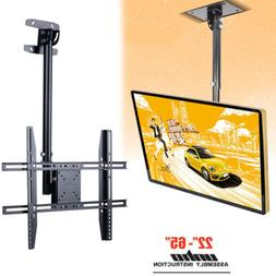 Telescoping Tilt Swivel Ceiling Hanging TV Wall Mount Bracke