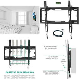Wali Tilt Tv Wall Mount Bracket For Most 26 To 55 Inch Led,