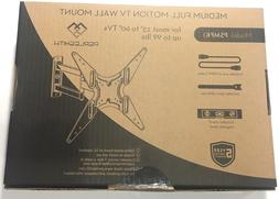 "Perlesmith TV Full Motion Wall Mount for 23-60"" TV,, Swive"