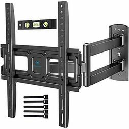 PERLESMITH TV Wall Mount Bracket Full Motion Single Articula