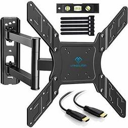 PERLESMITH TV Wall Mount for 23-55 Inch TVs with Swivel &amp