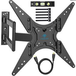 "PERLESMITH TV Wall Mount for 26""-55"" TVs with Swivel & Ext"