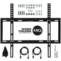 TV Wall Mount Kit for 45-90 Inch TV's with HDMI, Slim Flat D