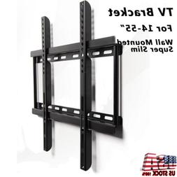 """Universal Steel LED LCD TV Wall Mount Bracket Stand 14-55"""" f"""