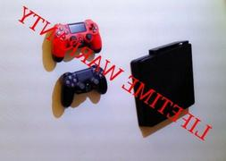 Wall mount brackets for PS4 CONSOLE & Controllers, with moun