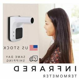 Wall Mount Digital Infrared Thermometer Automatic Non Contac