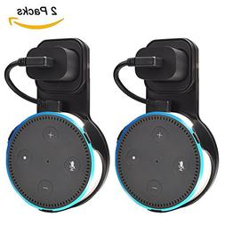 Outlet Wall Mount Hanger Holder Stand for Amazon Echo Dot 2n