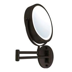 Ovente Wall Mount LED Lighted Makeup Mirror MFW70  Assorted
